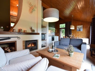 Photo for Peaceful Holiday Home in Tenneville near Forest