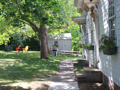 Photo for Comfy,  Timeless Cape-  Huge Yard, Dog-Friendly, Easy Walk to Beach/Down Town