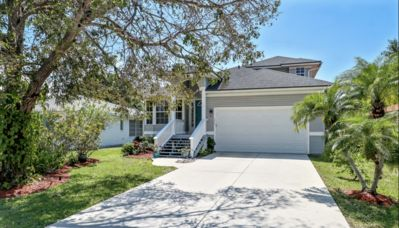 Photo for Super close to Vanderbilt beach (1/2 mile)!! Heated Pool/Spa almost 2500sq ft