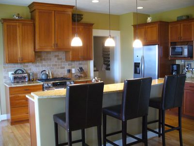 Kitchen - Open, Spacious and  Friendly