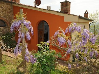 Photo for Tourist Complex with garden, swimming pool, near Chianti Hills
