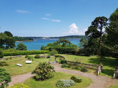 Photo for Mansion renovated with park and view on Rance / near Dinard
