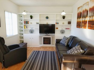 Photo for 2BD/1BA  Beautiful   House,  Near Lax. Sofi Stadium.  Walk to park and store.