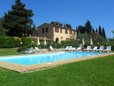 Photo for I Glicini, your holiday home in Chianti just 30 minutes from Florence and Siena