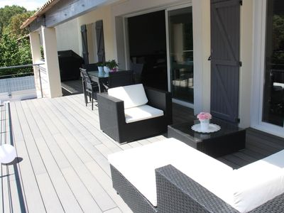 Photo for Quiet villa 10 minutes from Montpellier and 15 minutes from the beaches