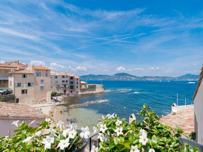 Photo for SUPERB VILLAGE HOUSE right on the water in the center of Saint Tropez