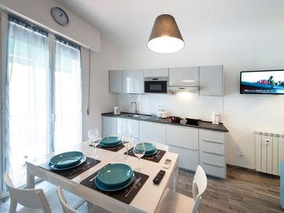 Photo for CIPRIANI 5 RIVIERA-HOLIDAY Large two-room apartment with wifi and air conditioning