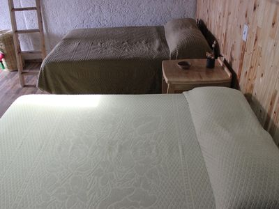Photo for Comfortable and cozy Eucalyptus bedroom 30 min. of Toluca for Holidays.