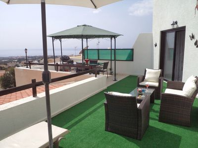 Fully Furnished Terrace - 180 deg Views of the Med & mountains & a Gas BBQ