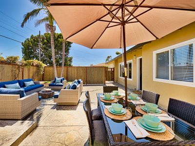 20% OFF OCT - Walk to Beach w/ Spacious Yard & Fire Pit