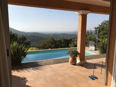 Photo for New beautiful villa with panoramic views, pool and air conditioning