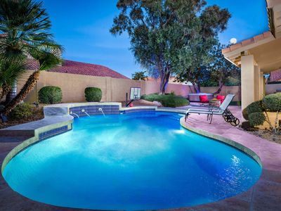 Photo for NEW LISTING! Spacious, upscale home w/pool, hot tub-near attractions & dining