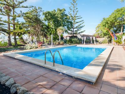 Photo for Spacious Finca el Rincón with Mountain View, Wi-Fi, Terraces & Pool; Parking Available, Pets Allow