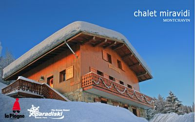 Photo for Chalet Miravidi, Montchavin. 'Mont Blanc' apartment (4 Bedrooms, Sleeps 8/9)