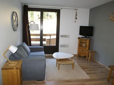Photo for Surface area : about 28 m². Living room with sofa-bed, bed-settee. Bedroom with bed, 2 bunk beds