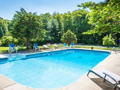 Photo for Four Night Summer Minimum! Fun Filled Lakeside Summer Retreat with Private Pool!