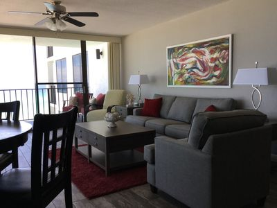 Photo for Fabulous View On The Beach! Corner Unit With Wrap Around Balcony