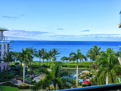 Photo for Maui Resort Rentals: Honua Kai Hokulani 533 – Upgraded 5th Floor Oceanview Studio