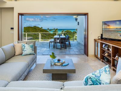 Photo for *10% discount on stays during 5/1-6/14*Kailani Villa-1 block from the beach, ocean & Mokulua views