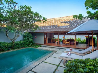 Photo for 2 BR Pool Villa in central of Seminyak