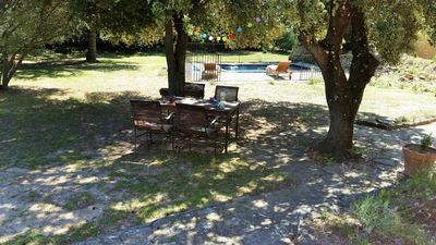 Photo for Holiday house with private pool in Uzes