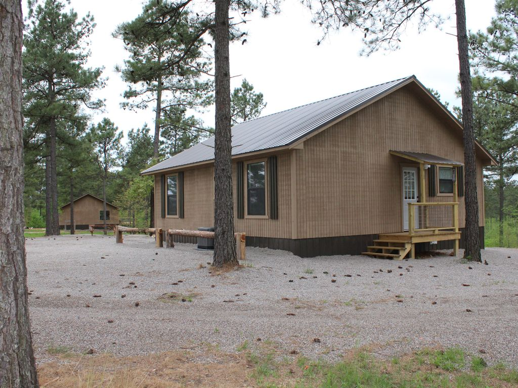 New private cabins perfect for any ages murfreesboro for Cabins near crater of diamonds state park