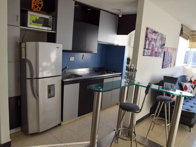 Photo for BEAUTIFUL FURNISHED APARTMENT IN POBLADO