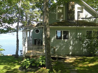 Photo for Traditional Maine Cottage on the Open Ocean