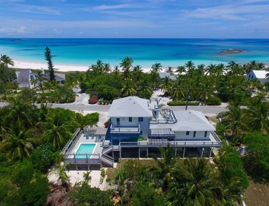 Wondrous Luxury Villa At World Famous French Leave Bch Heated Pool Great Ocean Views Governors Harbour The Bahamas Home Interior And Landscaping Ferensignezvosmurscom