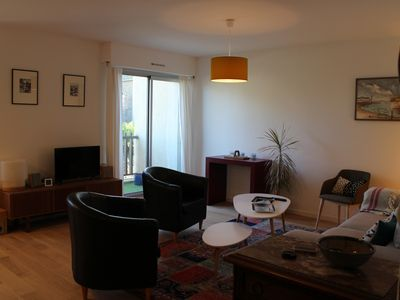 Photo for Appt 47 m2 in the center of Saint Servan, all beaches, intramural, shops