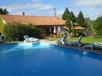 Photo for Converted Farmhouse With Private Pool And Tennis Court-SPECIAL RATE AVAILABLE
