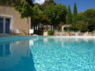 Photo for Beautiful property in the Luberon, infinity pool