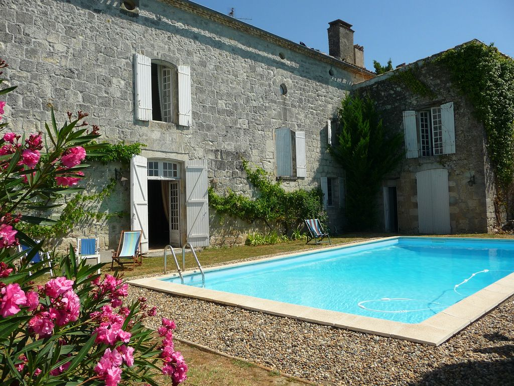 Loue maison de caract re 47 avec piscine s curis e 8 for Location maison avec piscine lot et garonne