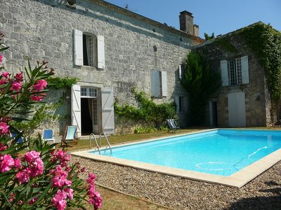 Photo for Rent house of character (47) with secured swimming pool - sleeps 8-
