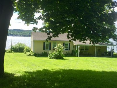 Photo for QUINTESSENTIAL FINGER LAKES COTTAGE! CHARM ABOUNDS IN THIS COZY LAKEFRONT GEM!