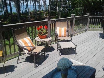 Photo for Chebeague Island, ME waterfront home. Enjoy island living and stunning views!