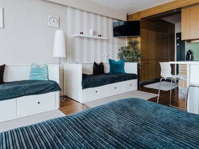 Photo for Luxury apartman on the beach with lake view