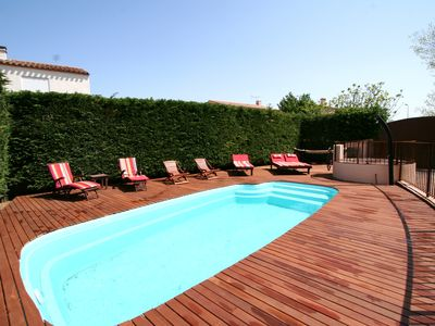 Photo for Big house with swimming pool and garden near see