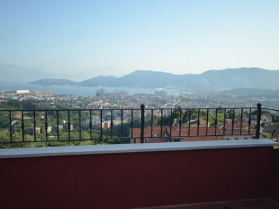 Photo for The house with a view of Emma is a charming apartment with a splendid sea view