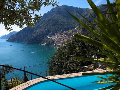 Photo for holiday rental on Amalfi coast, Italian coastal rentals with pool, Positano villas within walking distance