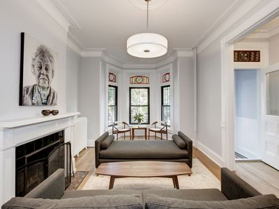 Photo for Grand Historic Victorian Row House in Logan Circle