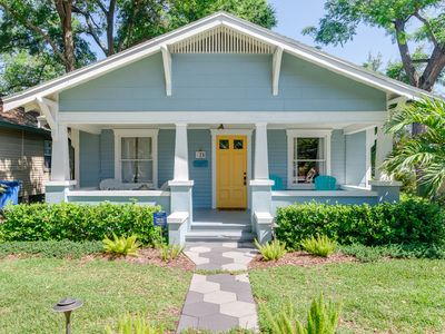 Photo for Charming Bungalow Steps from Downtown St. Petersburg