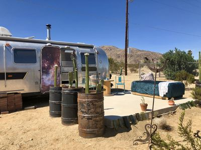 Photo for Lil' Copernicus the vintage airstream tiny cabin home.