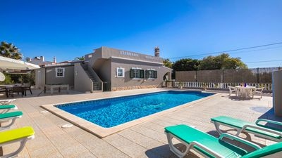 Photo for Typical Portuguese villa with private heated swimming pool, near Carvoeiro.