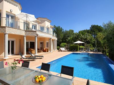 Photo for Villa Merlin is a Superb villa near Pollensa with sleek, stylish interiors and heated swimming pool