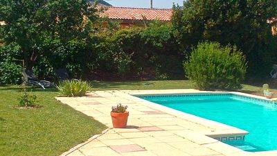 Photo for Octon, Villa Bungalow, Pool, Close to the Salagou between Sea and Mountain