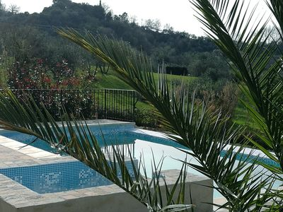 Photo for Independante Tuscany House with pool for Holidays near San Gimignano
