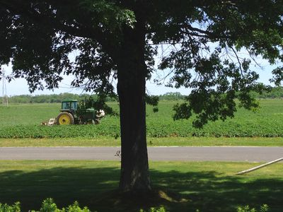 Photo for Enjoy Expansive Porch Farmland Views or Bike or Hike to Vineyard Tasting Rooms