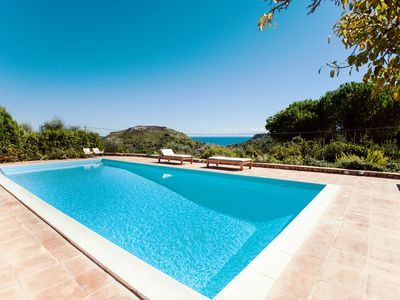 Photo for Tuscany, Porto Ercole - Splendid villa with pool and large private garden