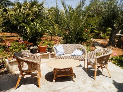 Photo for Comfortable and spacious villa by the sea in Torre Suda.